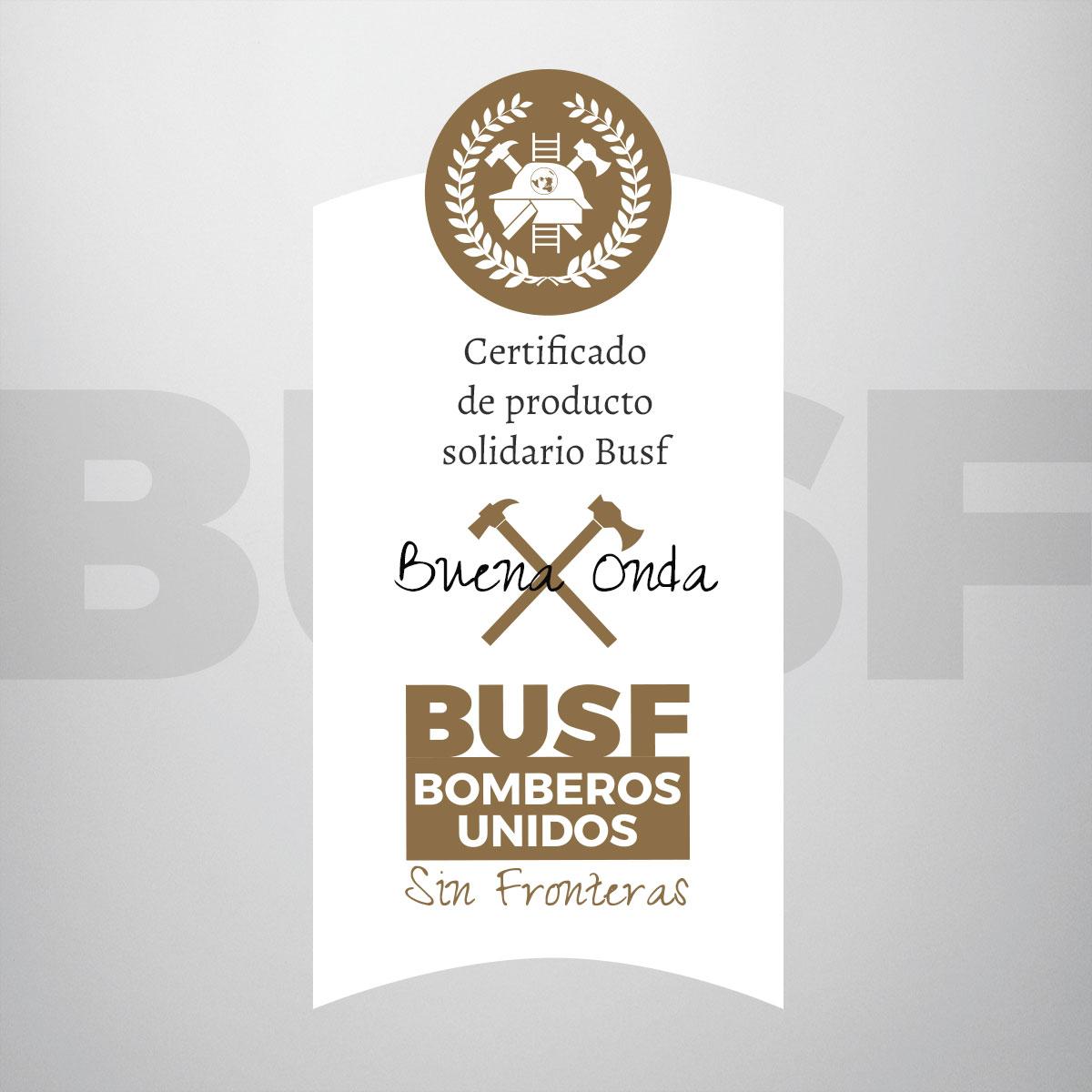 Etiqueta Busf Solidaria