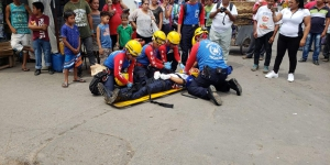 BUSF Nicaragua participa en el II Simulacro Nacional