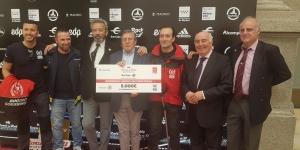 BUSF, presente en la presentación de la Maratón de Madrid 2019