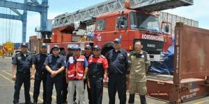 La escala donada a Bomberos de Nicaragua llega a su destino