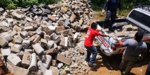 BUSF Guatemala prepara escombrera de entrenamiento