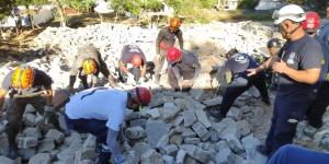 Continúa el curso de búsqueda y detección canina en Guatemala