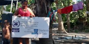 Ayudamos a familias en Escuintla
