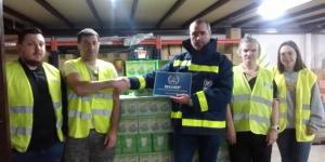 Vigo recibió 1.005 litros de leche a través de la Asociación Vida Digna para  miles de familias en situación precaria