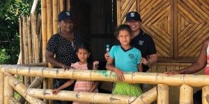32 viviendas construidas en Ecuador para familias afectadas por el terremoto de abril 2016