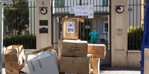 BUSF ha realizado una segunda gran donación de 4.500 kg en material de protección en la Comunidad de Madrid