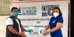 En BUSF continuamos con nuestra campaña internacional de apoyo en la lucha contra el COVID 19