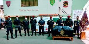 Hemos entregado 100 trajes de protección en Arequipa