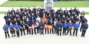 Inauguración protocolar del Curso de Grandes catástrofes de BUSF en Santo Domingo (R. Dominicana)