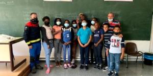 Campaña BUSF de apoyo escolar